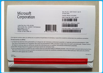China Multi Schlüsselcode-Pro Pack Soem-Satz Sprach-Microsoft Windowss 8,1 echt fournisseur