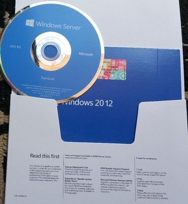 5 Versionen R2 englischer DVD CALS Microsoft Windows Server-2012 Soem-STANDARDSATZ